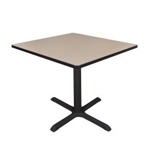Cain Beige Square 42 in. Breakroom Table