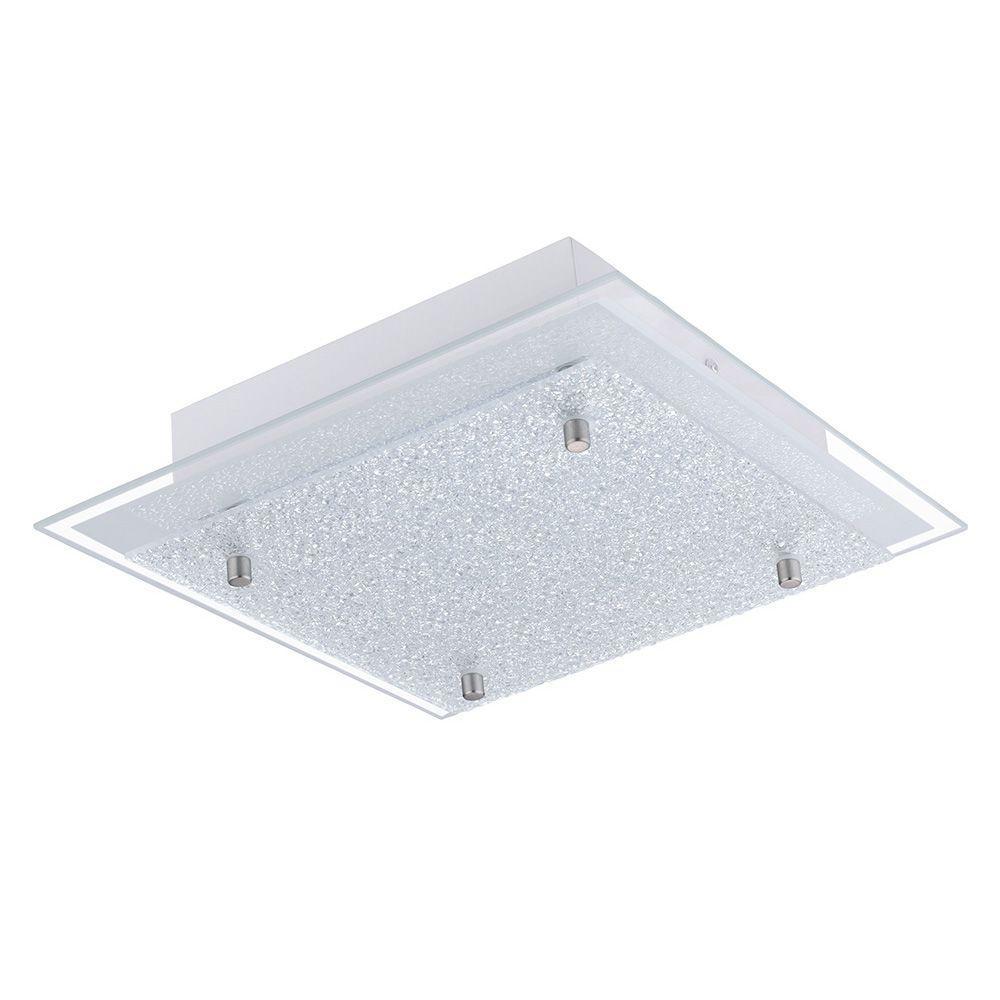 Priola Matte Nickel Integrated LED Ceiling Light