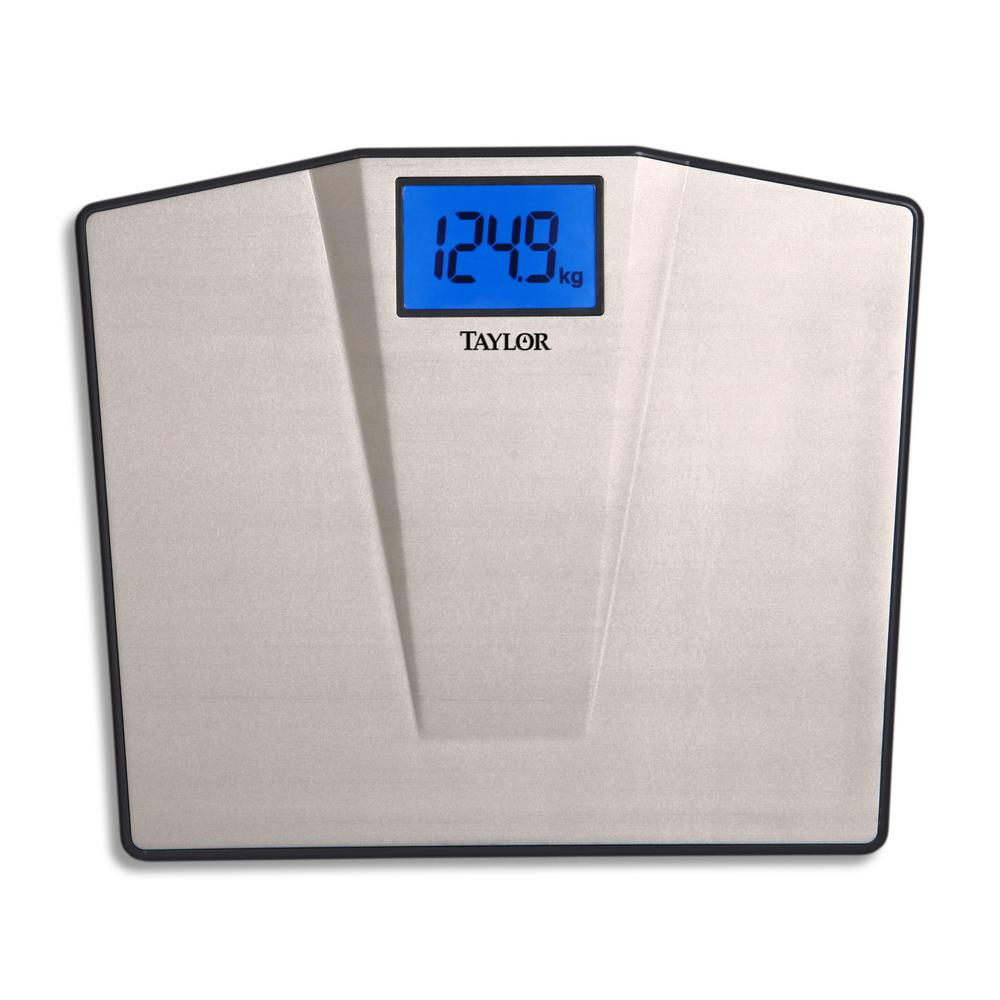 Taylor Digital Bath Scale With High Capacity In Stainless