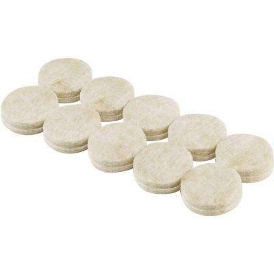 3/4 in. Heavy-Duty Self-Adhesive Felt Pads (20 per Pack)