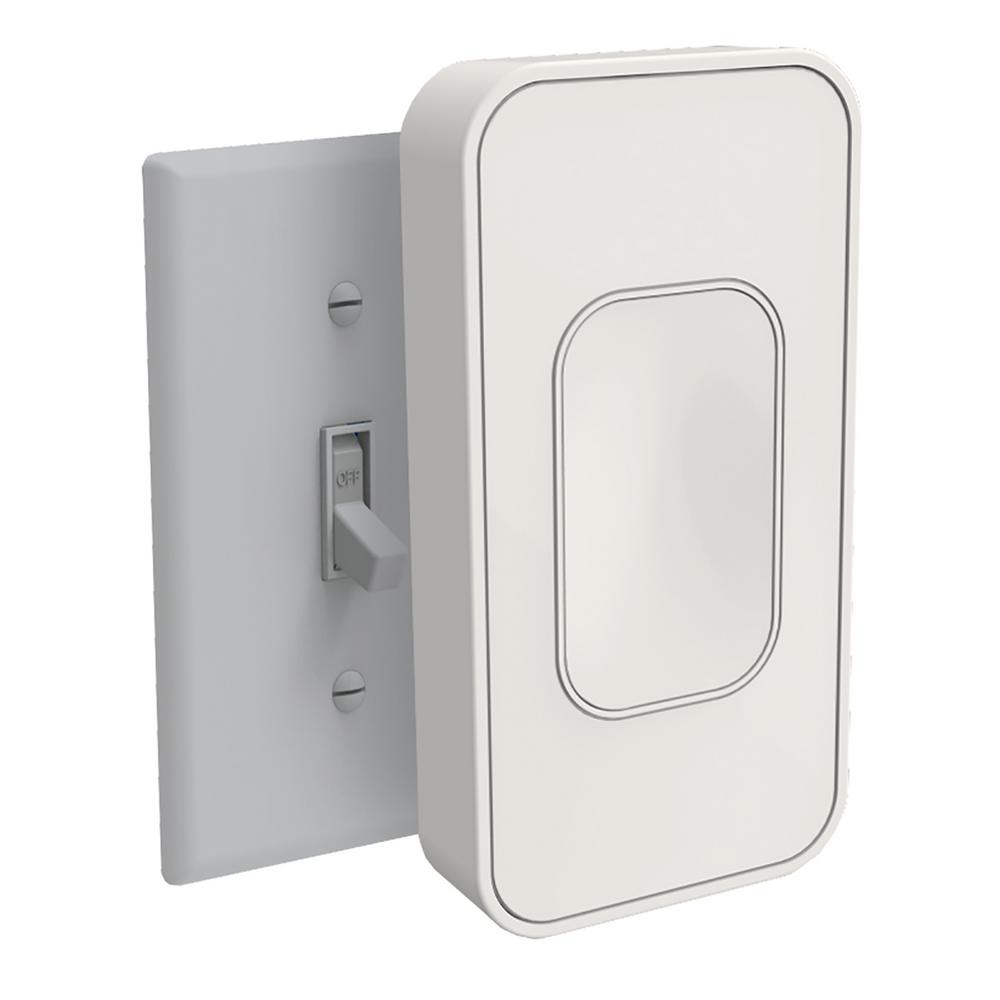 Switchmate Light Switch Toggle in Ivory-TSM001B - The Home Depot