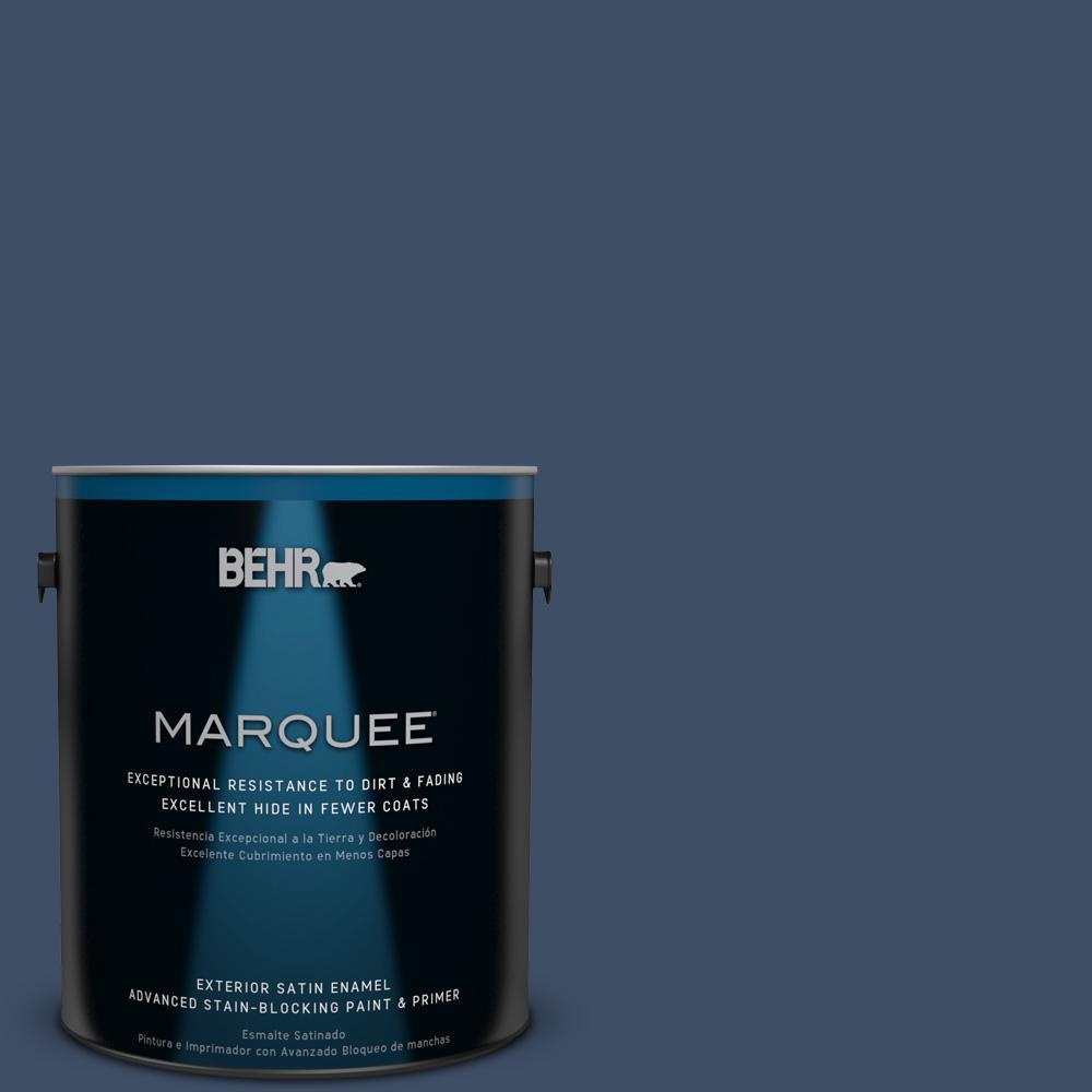 BEHR MARQUEE 1-gal. #580F-7 December Eve Satin Enamel Exterior Paint