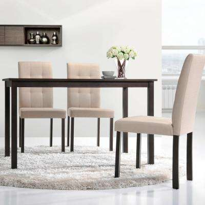 Andrew Dark Brown Wood Dining Table