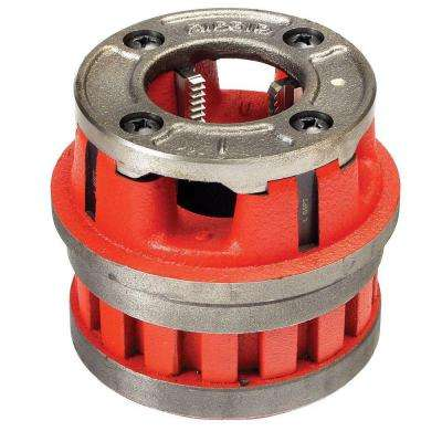 3/8 in. NPT Right Hand Steel Alloy Die Head for 12-R