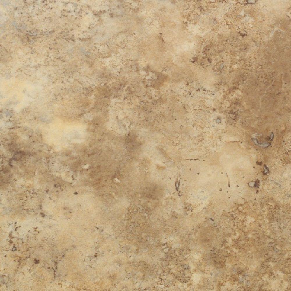 Floorworks Travertine Gold 18 In X 18 In X 0 118 In