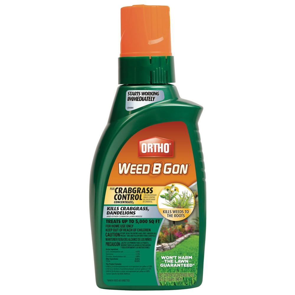 Ortho Weed B Gon 32 oz. Plus Crabgrass Control Concentrate2