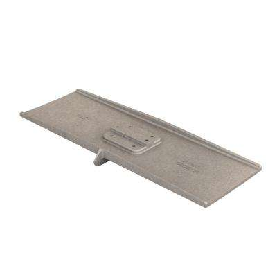 24 in. x 8 in. Square End Aluminum Flying Groover 3/8 in. x 3/4 in. Double Bit