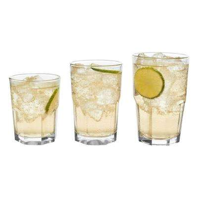Stonehenge 30-Piece Clear Glass Set