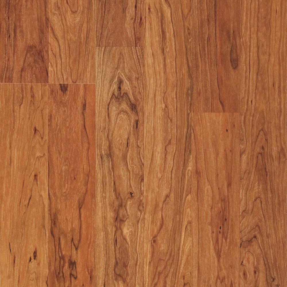 Pergo Presto Antique Cherry Laminate Flooring - 5 in. x 7 in. Take Home Sample