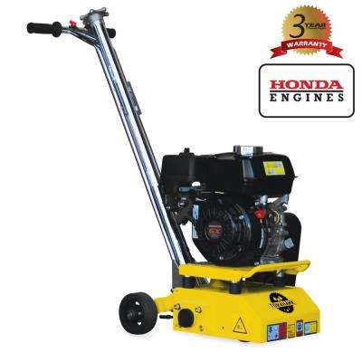 8 in  Gas Concrete Scarifier Planer Grinder with 5 5 HP Honda Engine OSHA  Compliant