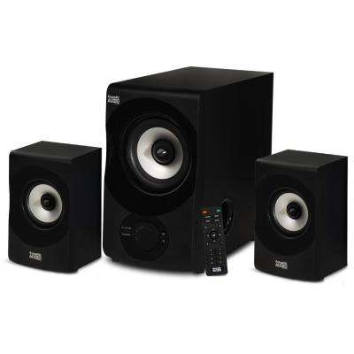 Acoustic Audio Bluetooth 2.1 Multimedia Speaker System (3-Piece Set)