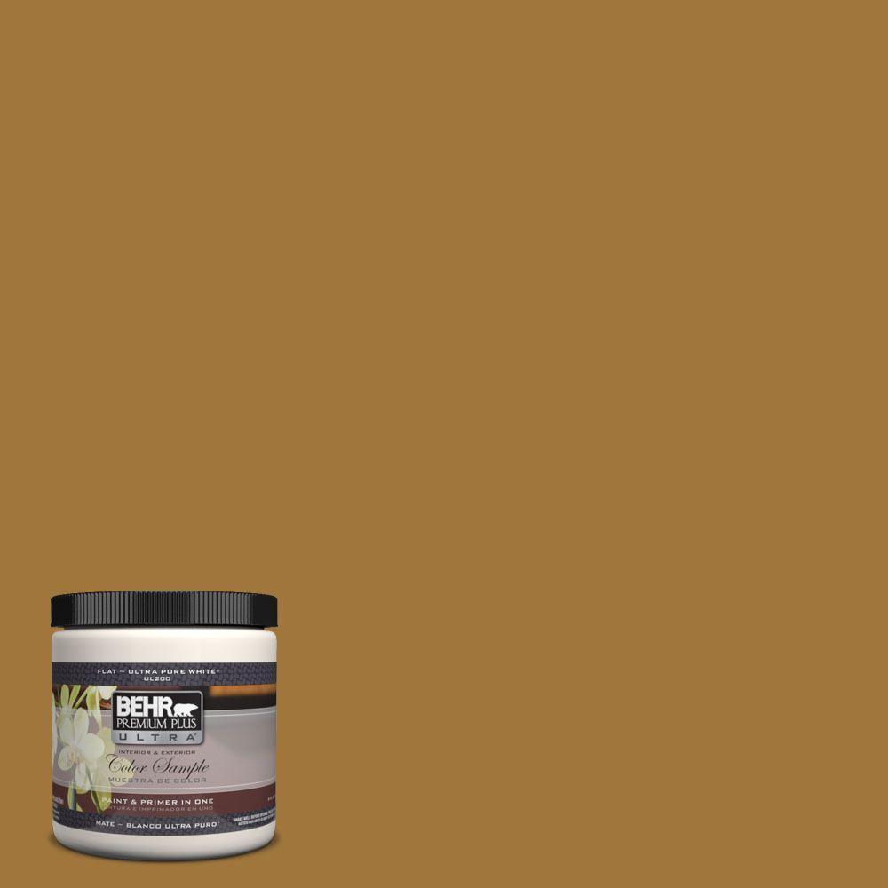 8 oz. #310F-6 Goldenrod Tea Interior/Exterior Paint Sample