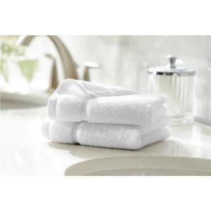 Turkish Cotton Ultra Soft Wash Cloth in White (Set of 2)