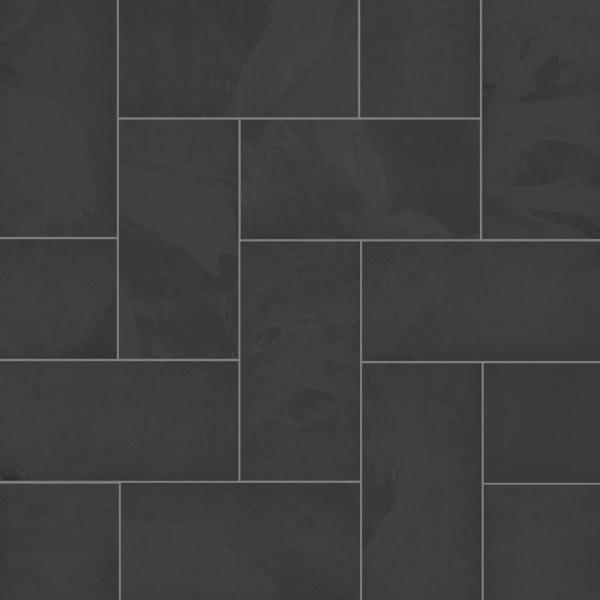 Florida Tile Home Collection Galactic Slate 12 In X 24 In Porcelain Floor And Wall Tile 13 62 Sq Ft Case Chdeglx1012x24 The Home Depot