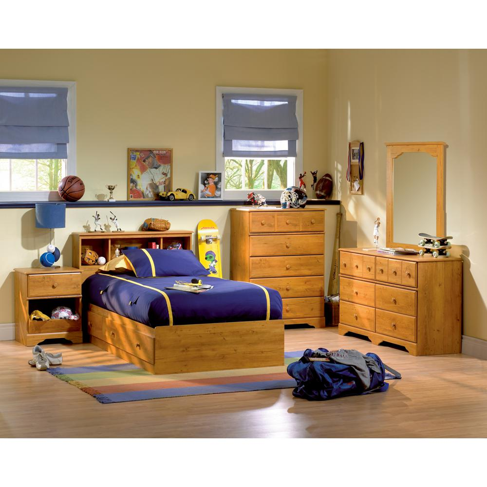 South Shore Little Treasures Country Pine Twin Headboard Photo