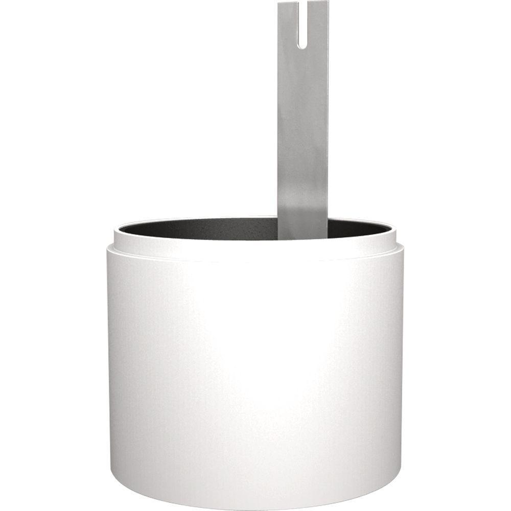White Full Cutoff Light Shield Accessory