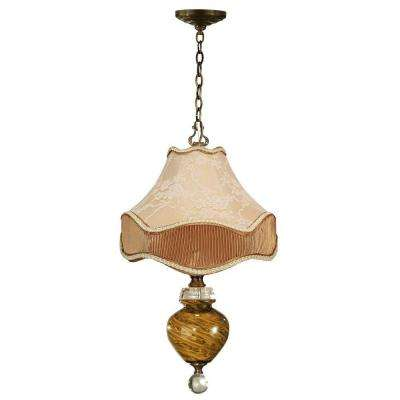 San Felipe 1-Light Antique Brass Mini Pendant
