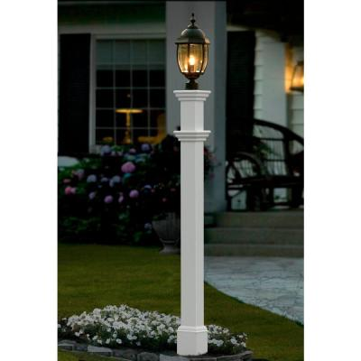 5 in. x 72 in. Vinyl Portsmouth Lamp Post
