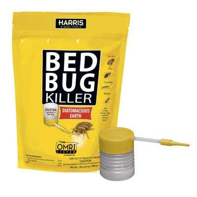64 oz. Diatomaceous Earth Bed Bug Killer with Professional Duster Applicator