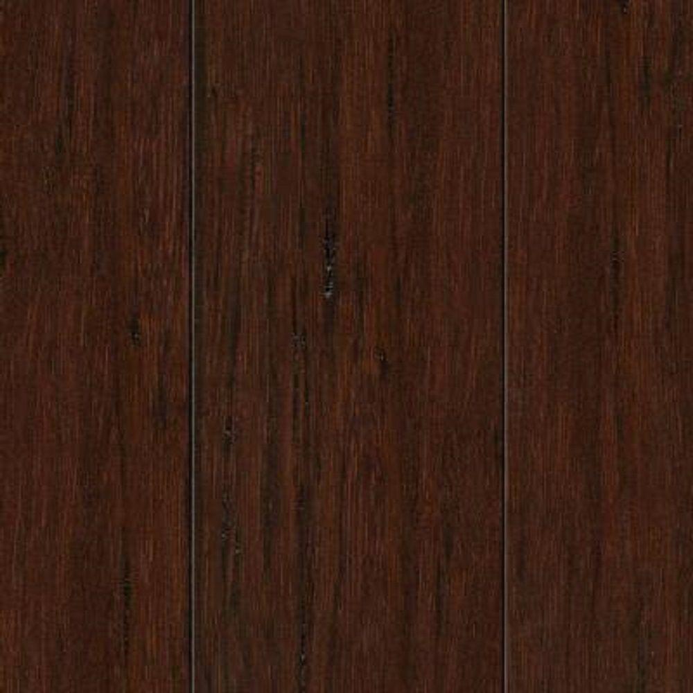 Bamboo Flooring Product : Take home sample hand scraped strand woven hazelnut