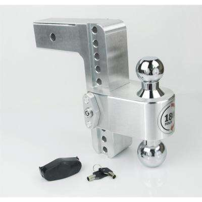 180 Hitch by Weigh Safe Chrome Tow Ball Edition