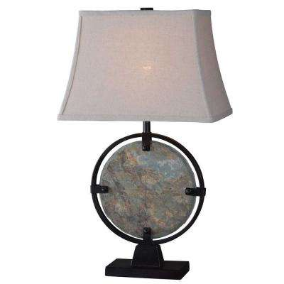 Brown/Tan - Green - Table Lamps - Lamps & Shades - The Home Depot