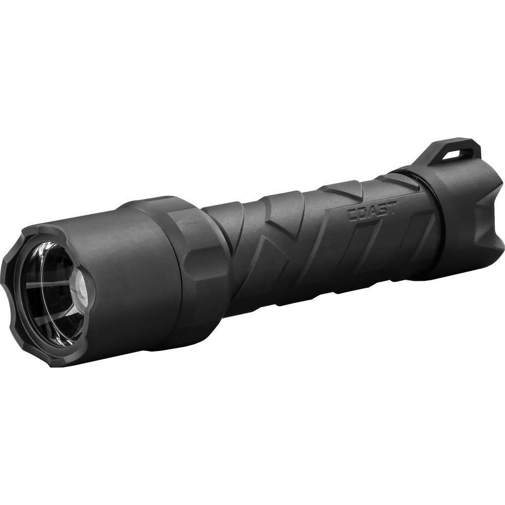 Coast Polysteel 600 Heavy Duty 710 Lumen Waterproof LED Flashlight with Twist Focus