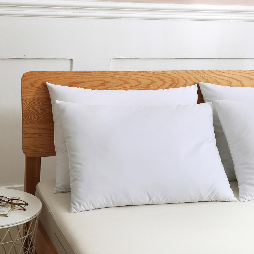 Cotton Duck Down Jumbo Pillow (Set of 2)