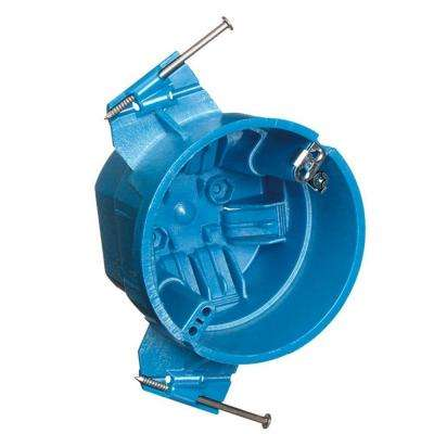 4 in. Hard Shell Superblue Ceiling Box with Ground Lug (Case of 24)