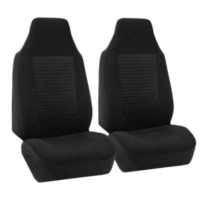 Premium Fabric 47 in x 23 in. x 1 in. Half Set Front Seat Covers