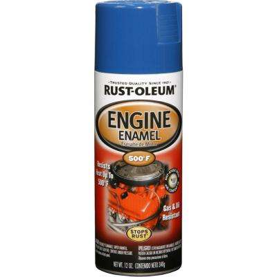 12 oz. 500 Degree Ford Blue Engine Enamel Spray Paint (6-Pack)