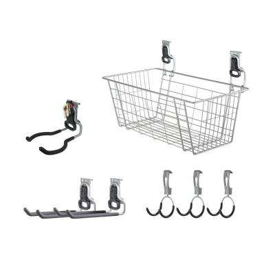 FastTrack Garage Rail Accessory Starter Kit (7-Piece)