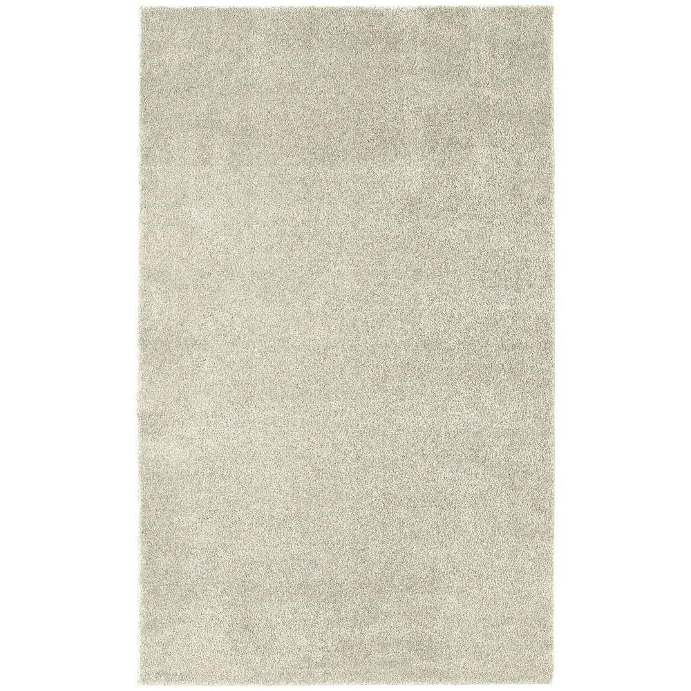 Garland Rug Washable Room Size Bathroom Carpet Ivory 5 Ft X 6 Area