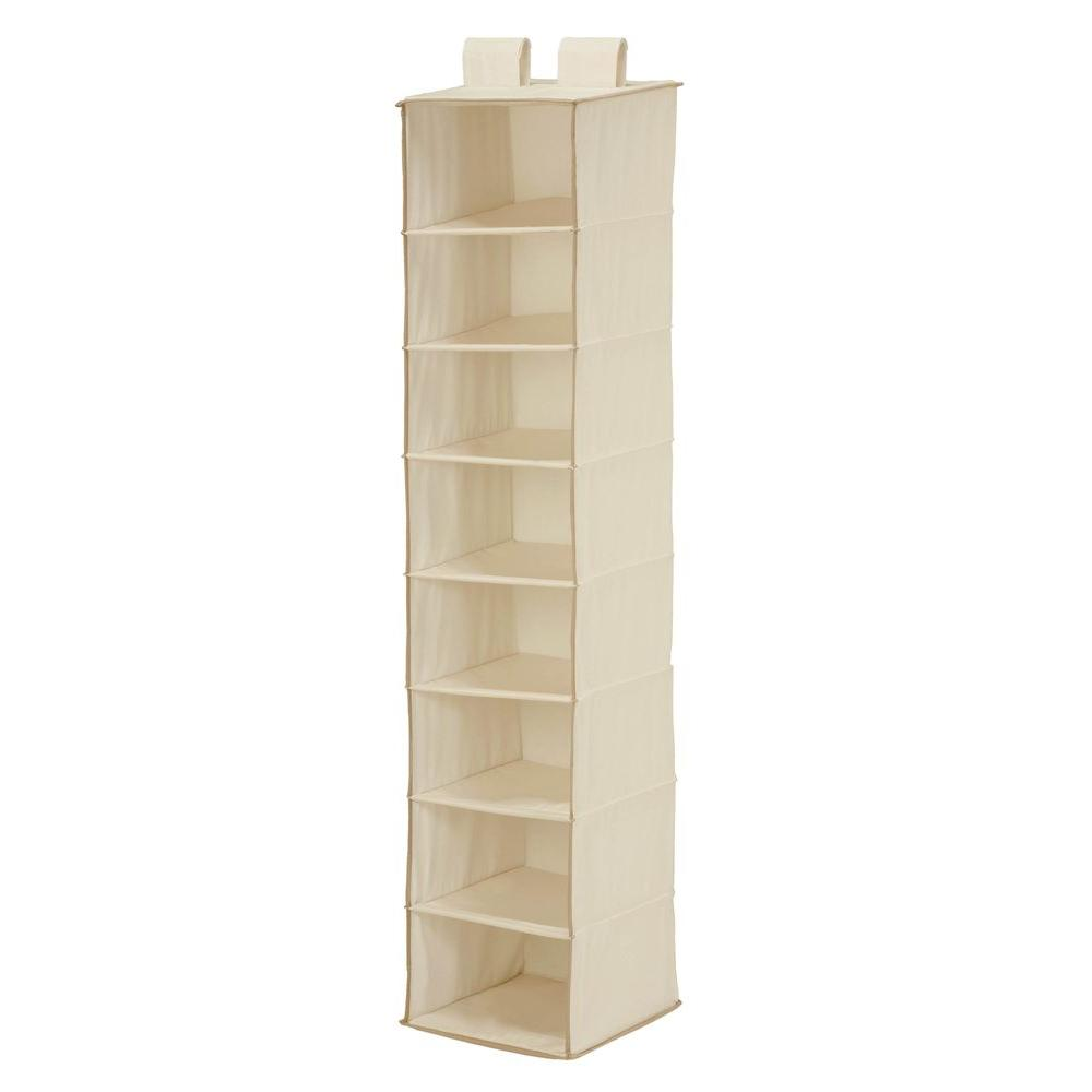 8-Shelf Natural TC Hanging Organizer
