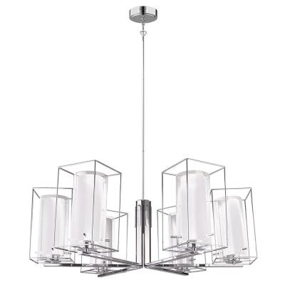 EGLO Loncino 1 6-Light Chrome Chandelier