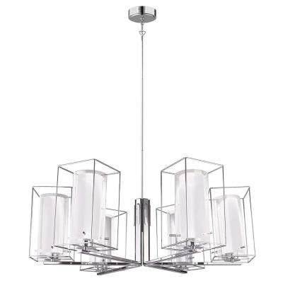 Loncino 1 6-Light Chrome Chandelier
