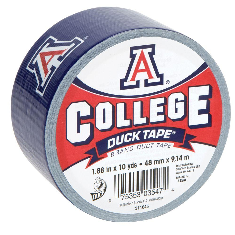 College 1-7/8 in. x 30 ft. University of Arizona Duct Tape