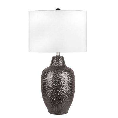 Dahlia 29 in. Bronze Table Lamp