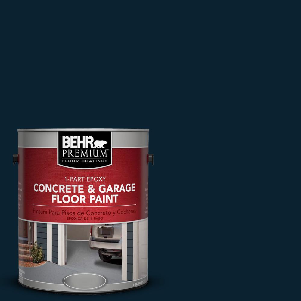 1 gal. #SC-101 Atlantic 1-Part Epoxy Concrete and Garage Floor Paint