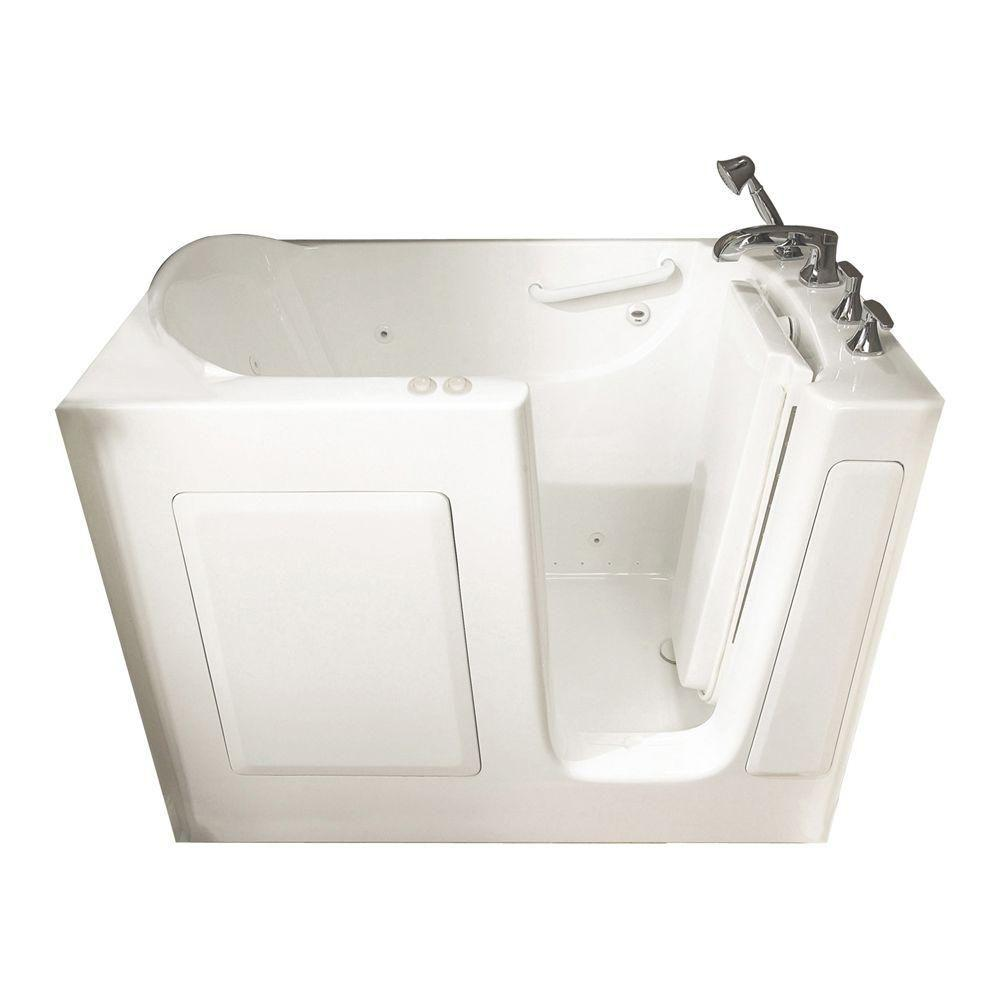American Standard Gelcoat Standard Series 51 in. x 31 in. Right Hand ...