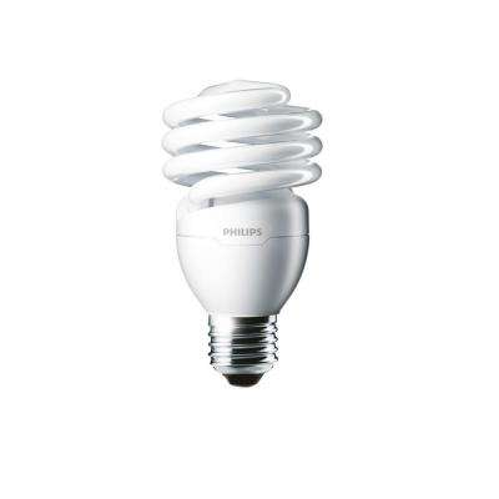 100-Watt Equivalent T2 CFL Light Bulb Daylight Deluxe Twister (24-Pack)