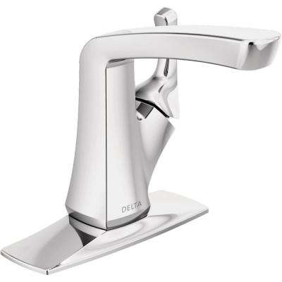 Vesna 4 in. Centerset Single-Handle Bathroom Faucet in Chrome