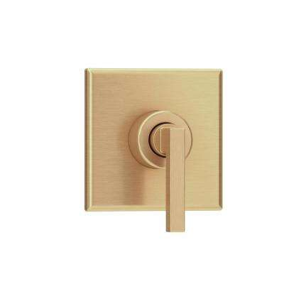 Duro 1-Handle Wall-Mounted Diverter Trim Kit in Brushed Bronze (Valve Not Included)