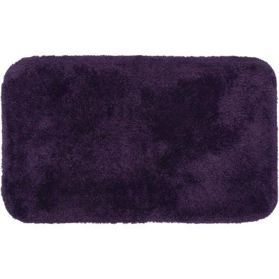 Royal Purple 24 in. x 40 in. Nylon Bath Rug