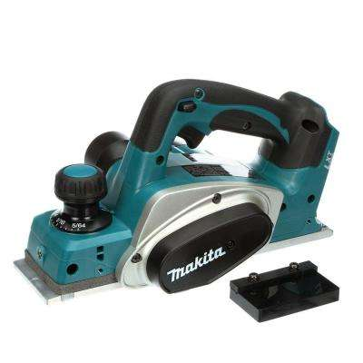 18-Volt LXT Lithium-Ion 3-1/4 in. Cordless Planer (Tool-Only)