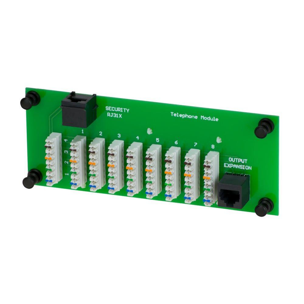 1 x 8 Telephone Module