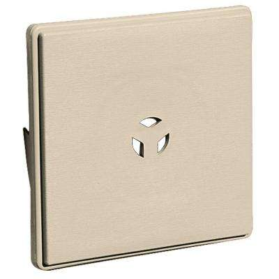 6.625 x 6.625 #049 Almond Surface Mounting Block for Dutch Lap Siding