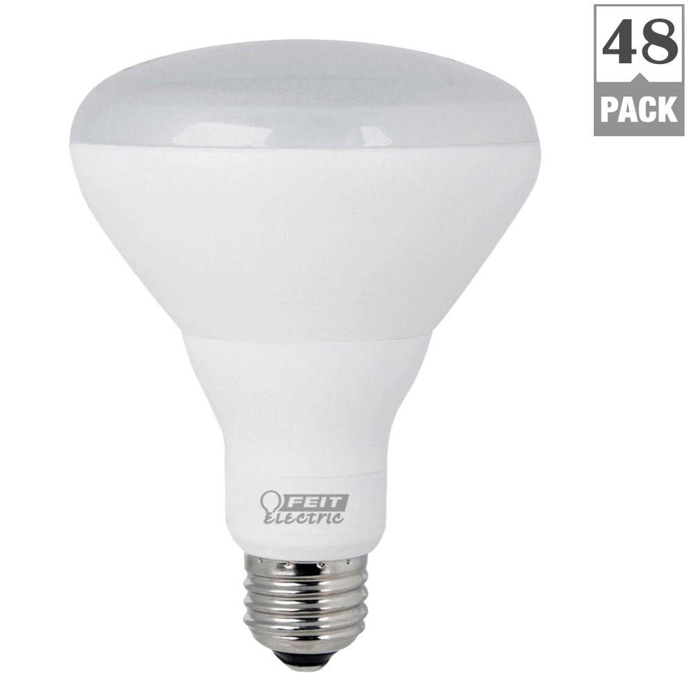 65W Equivalent Soft White (2700K) BR30 Dimmable Enhance LED Light Bulb (Case of 48)