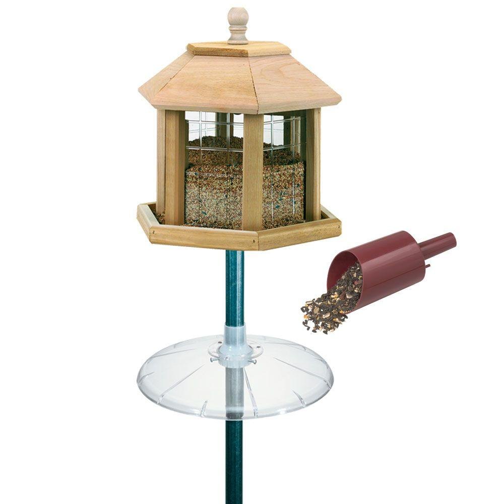 feeder bird feeders gazebo outdoor style food wild european product payment perfect discount for