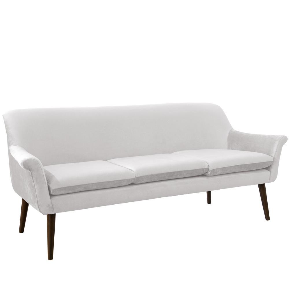 Mystere Snow Modern Sofa